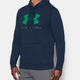 Under armour férfi RIVAL FITTED GRAPHIC HOODIE pulóver